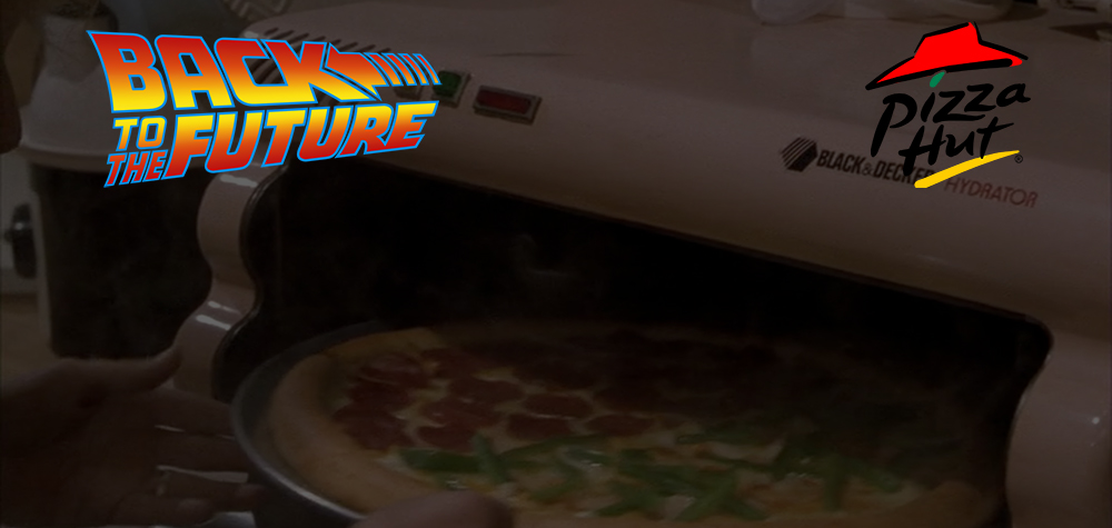 Pizza Hut recrée la pizza de Retour Vers le Futur 2