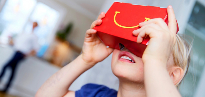 McDonald's transforme son Happy Meal en casque de réalité virtuelle