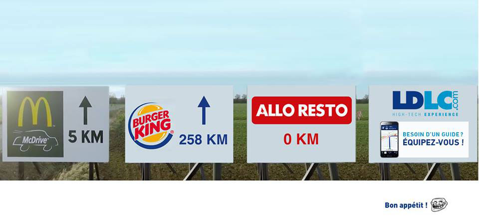 ldlc burger king mcdonalds