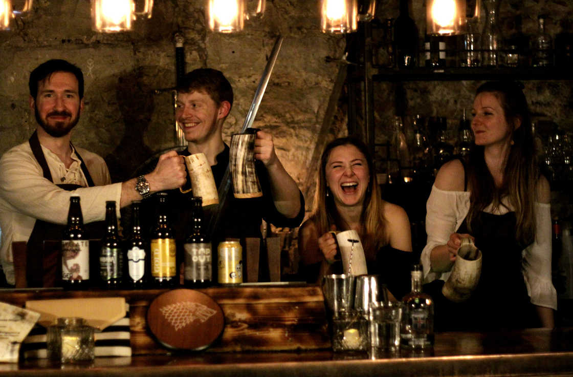 Un bar éphémère pour les fans de Game of Thrones