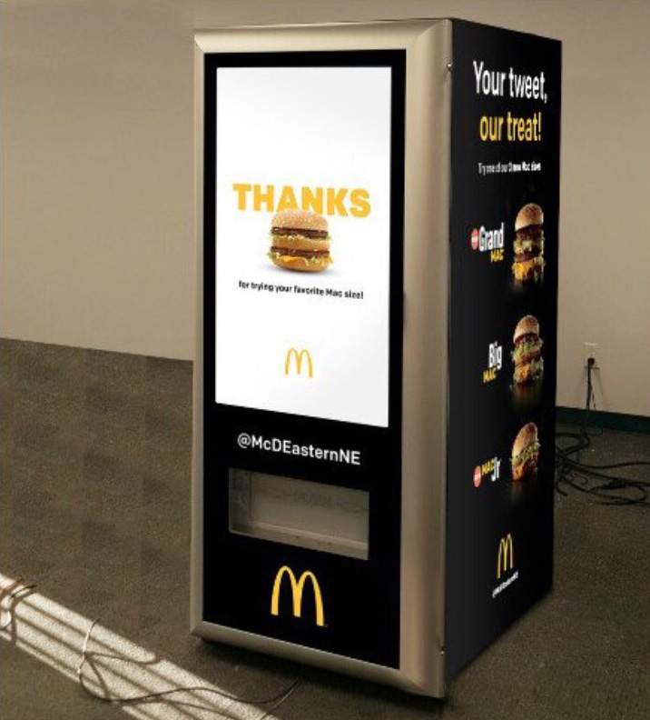 McDonald's va installer un distributeur automatique de Big Mac