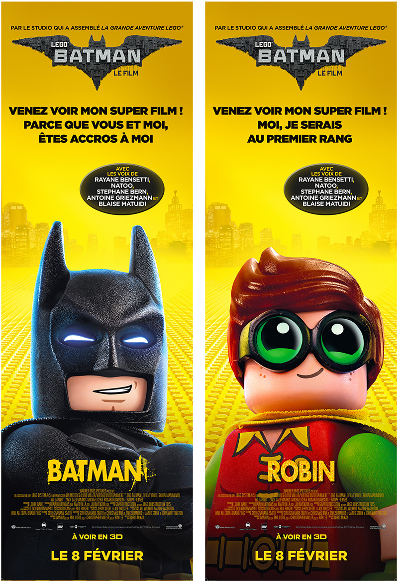 Comment Warner Bros. a réussi la contextualisation marketing de LEGO Batman