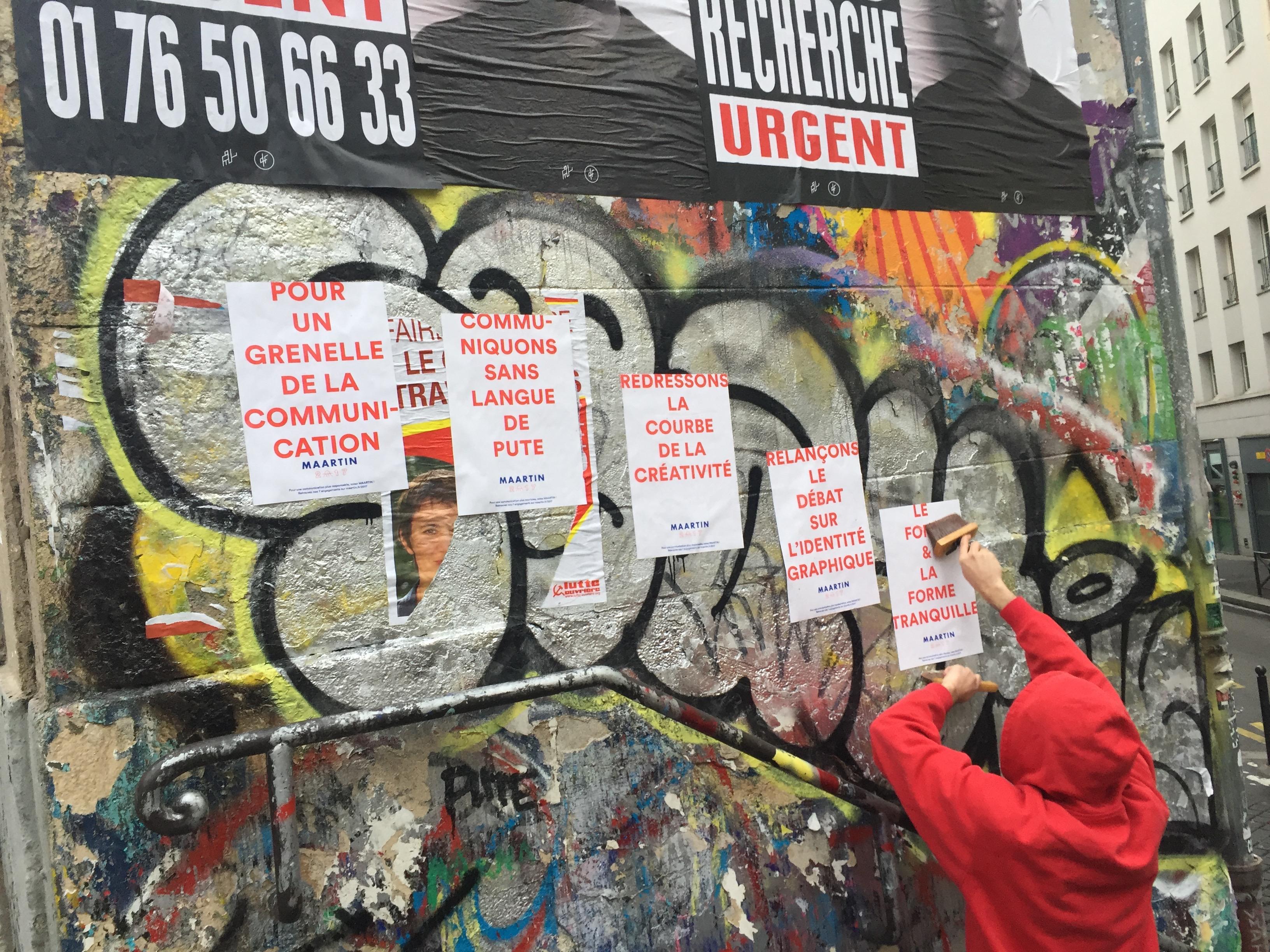 L'agence Maartin part en campagne électorale pour ses voeux 2017