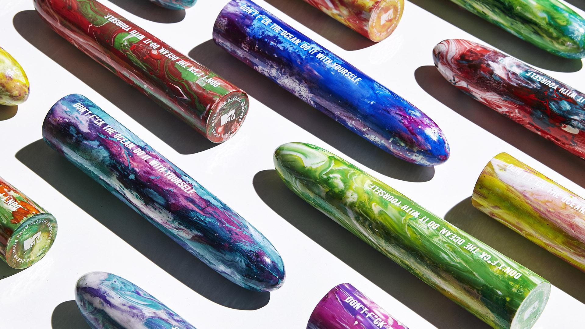 Des sextoys produits avec le plastique des océans