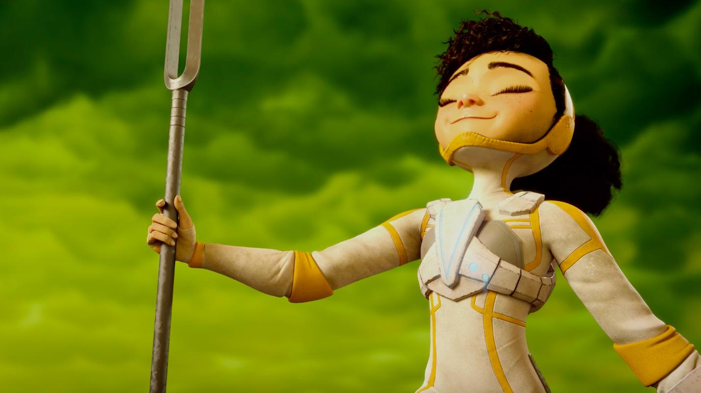 Un court métrage de science-fiction sur la lutte pour l'écologie