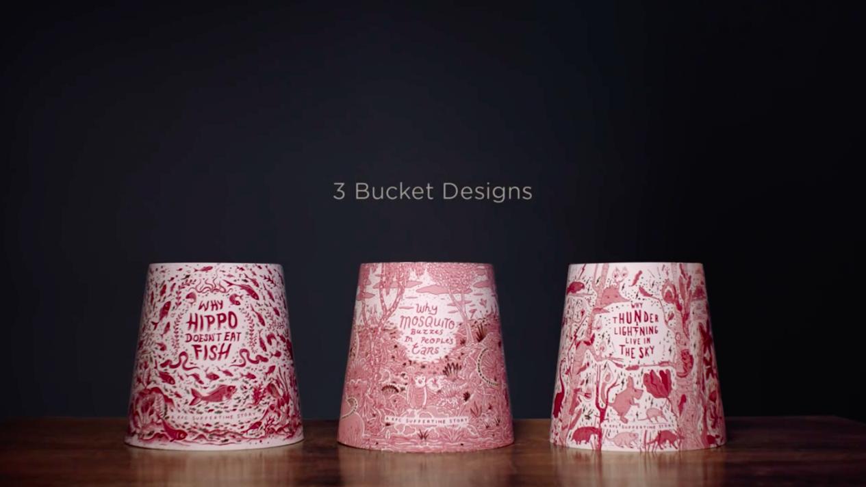 Ce bucket KFC raconte des histoires