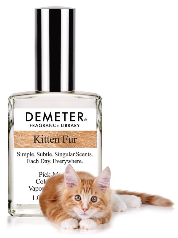 """Un parfume à l'odeur """"fourrure de chat"""""""