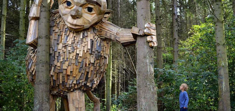 Où suis-je Martine 7 janvier - bravo Ajonc Sculptures-geants-bois-1