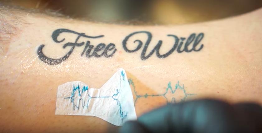 Il cr e des tatouages qui se transforment en musiques - Creer son tatouage polynesien ...