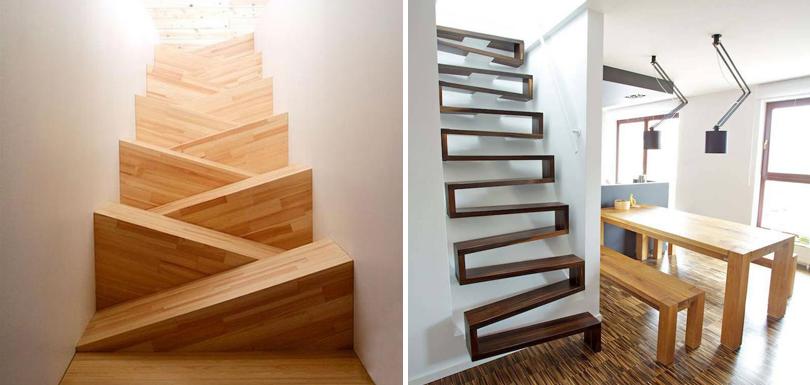 18 escaliers au design surprenant et créatif pour émerveiller votre ...