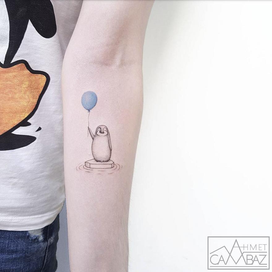 Cet Illustrateur Turc Plaque Tout Pour Sa Passion Le Tatouage