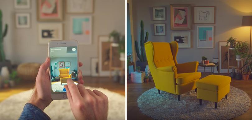 Ikea Lance Son Application Pour Tester Les Meubles Virtuellement