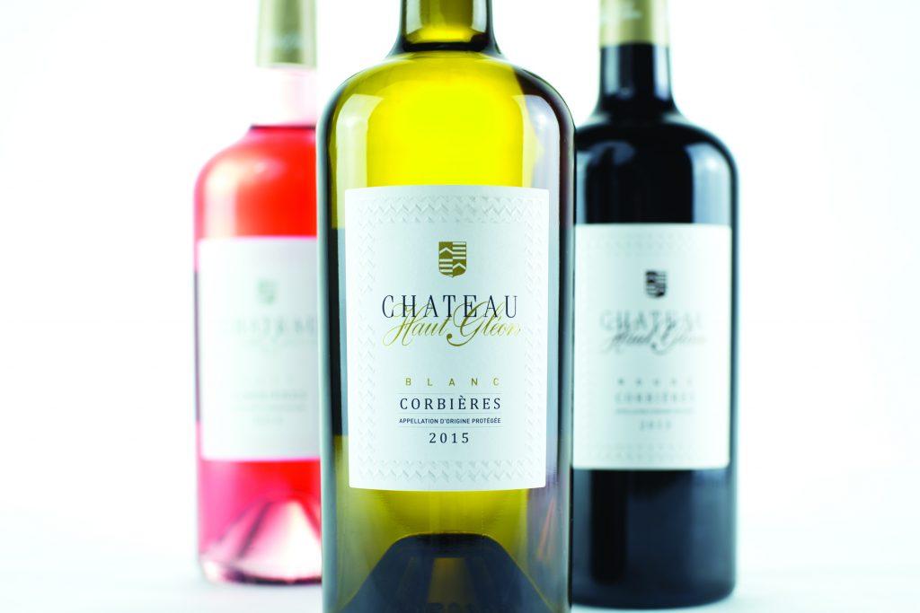 Les bouteilles Château Haut-Gléon