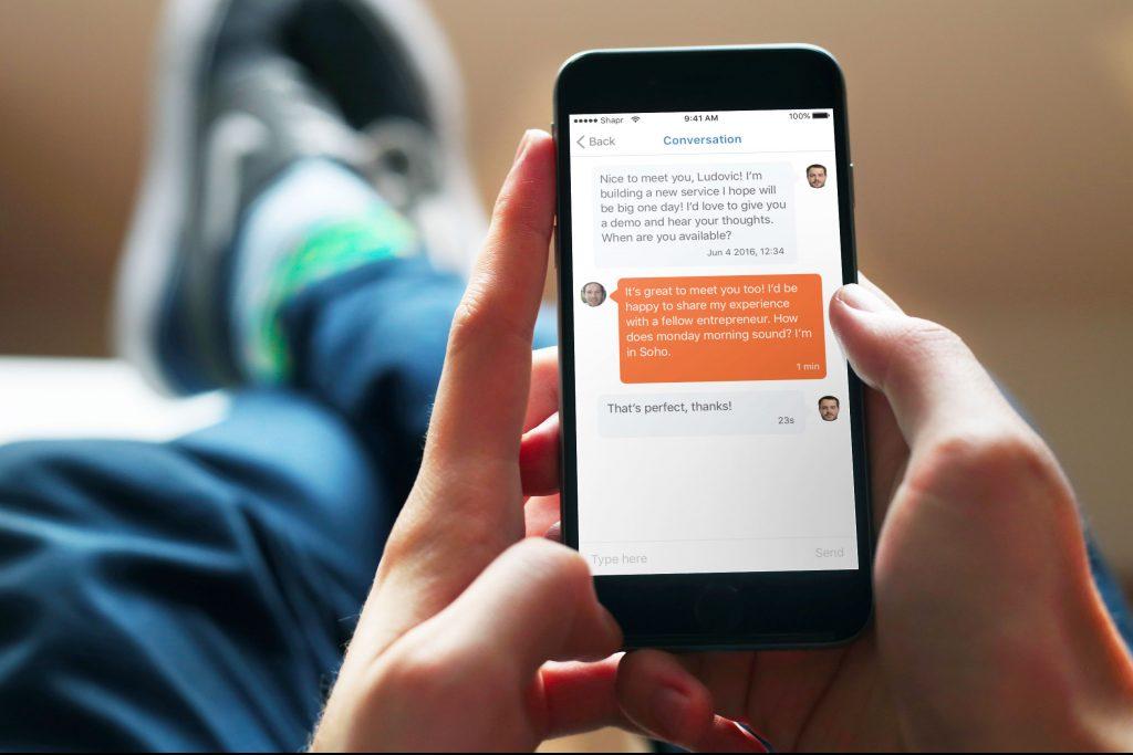 Cette application de rencontres pro est le mix parfait entre Tinder et LinkedIn