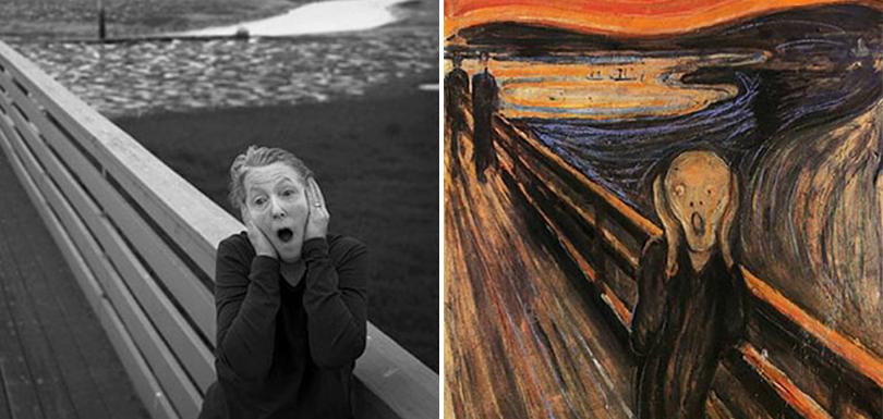À 66 ans, elle s'amuse à parodier en photos les tableaux célèbres