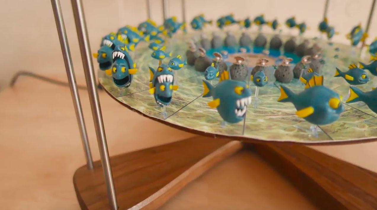 4-Mation propose des kits 3D pour créer ses propres effets zootropes