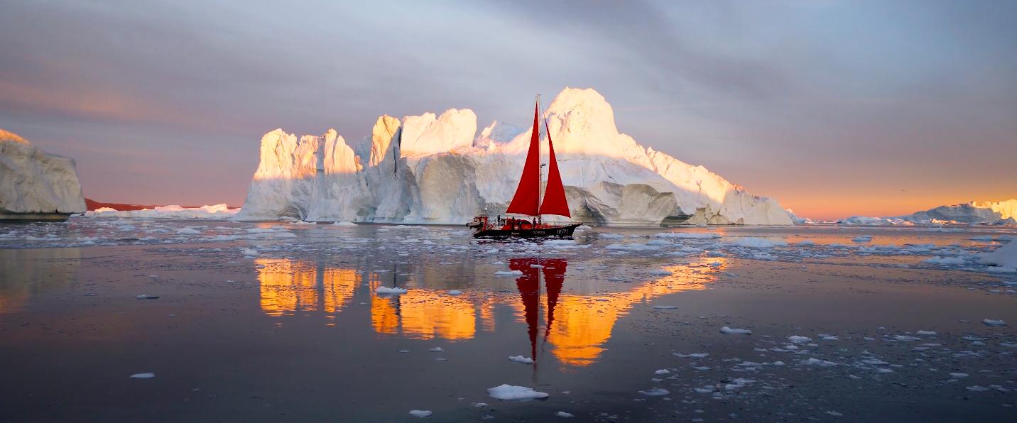 Dennis Schmelz filme la beauté du Groenland
