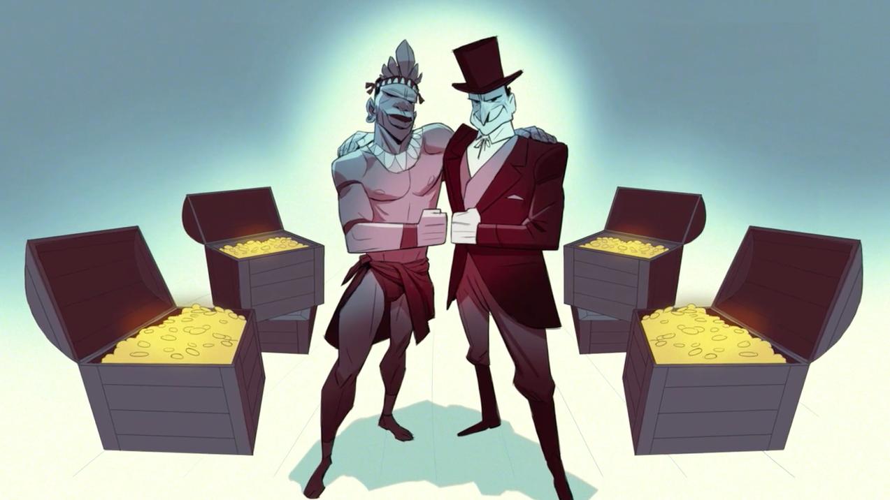 Ce court métrage hypnotisant dénonce les dérives de notre société