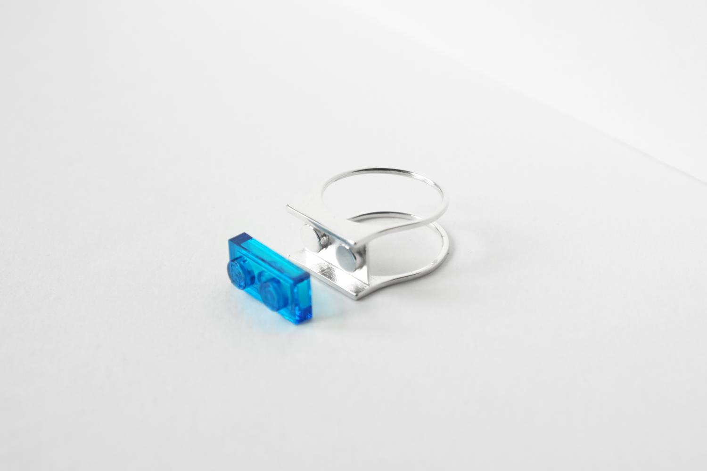 Ces bagues LEGO imprimées en 3D sont totalement personnalisables