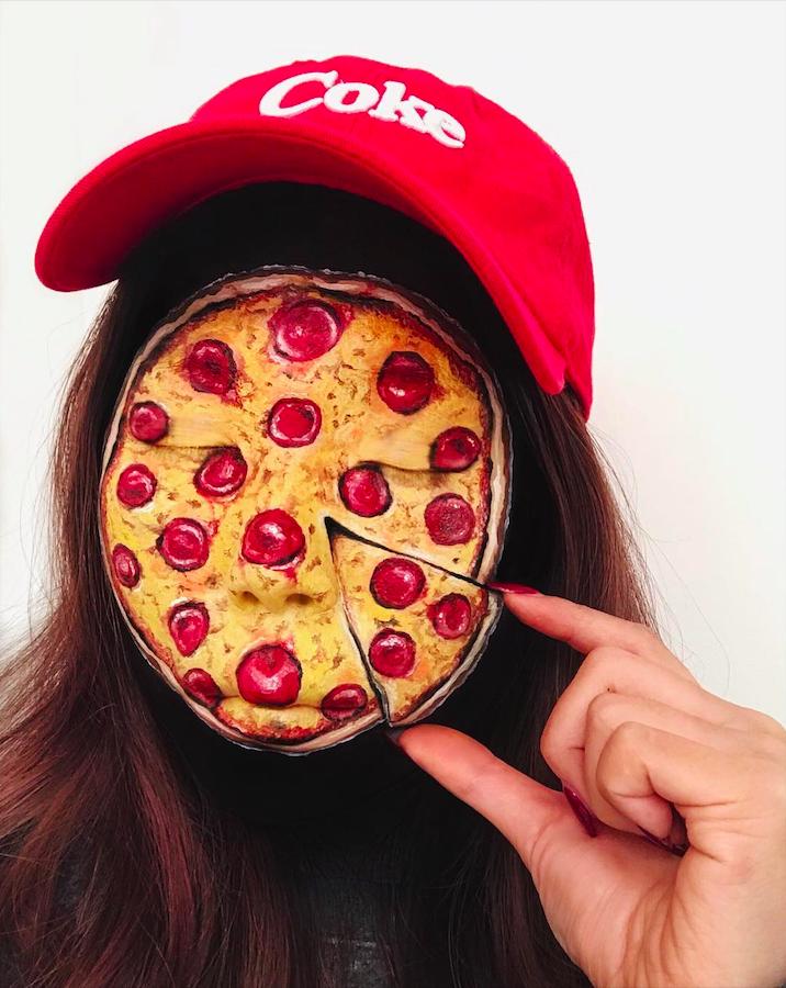 Mimi Choi transforme son visage et ses mains en aliments ultra-réalistes