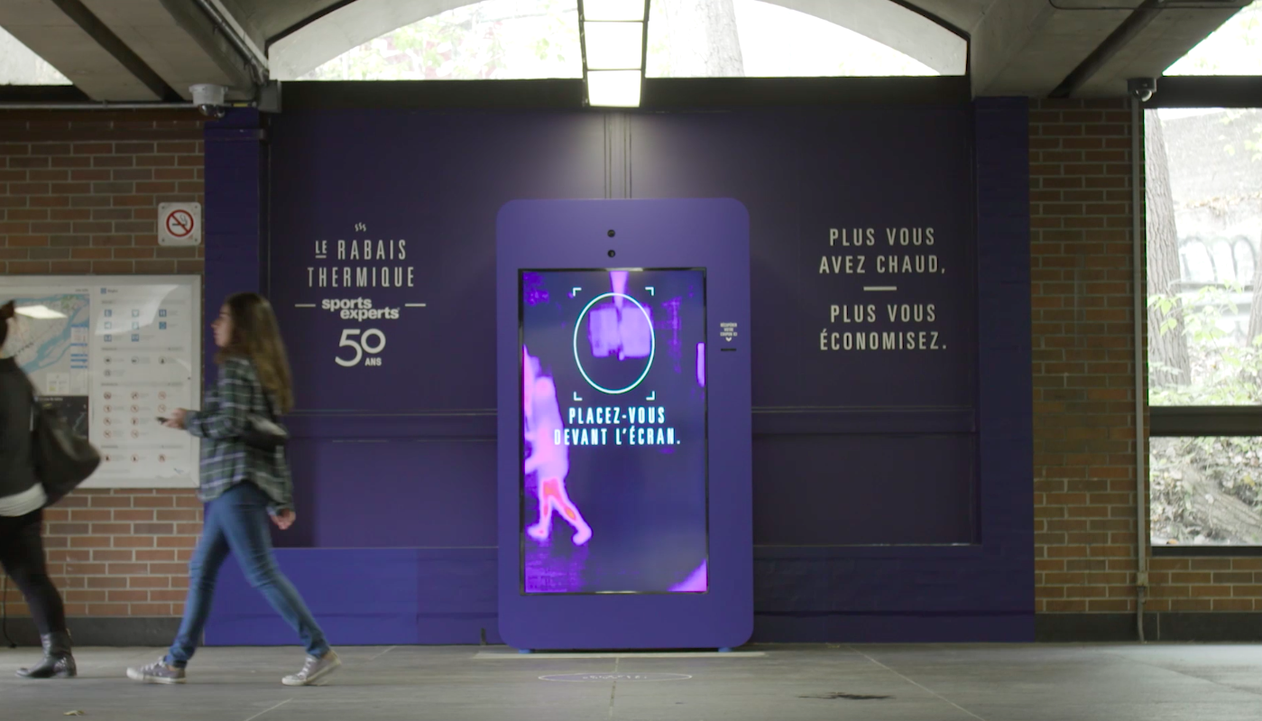 Rabais thermique : ce distributeur offre une réduction à ceux qui prennent les escaliers dans le métro