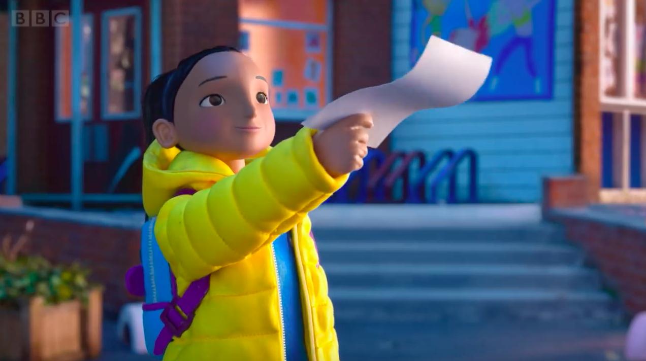 La BBC dévoile une animation touchante sur le relation d'un père et sa fille