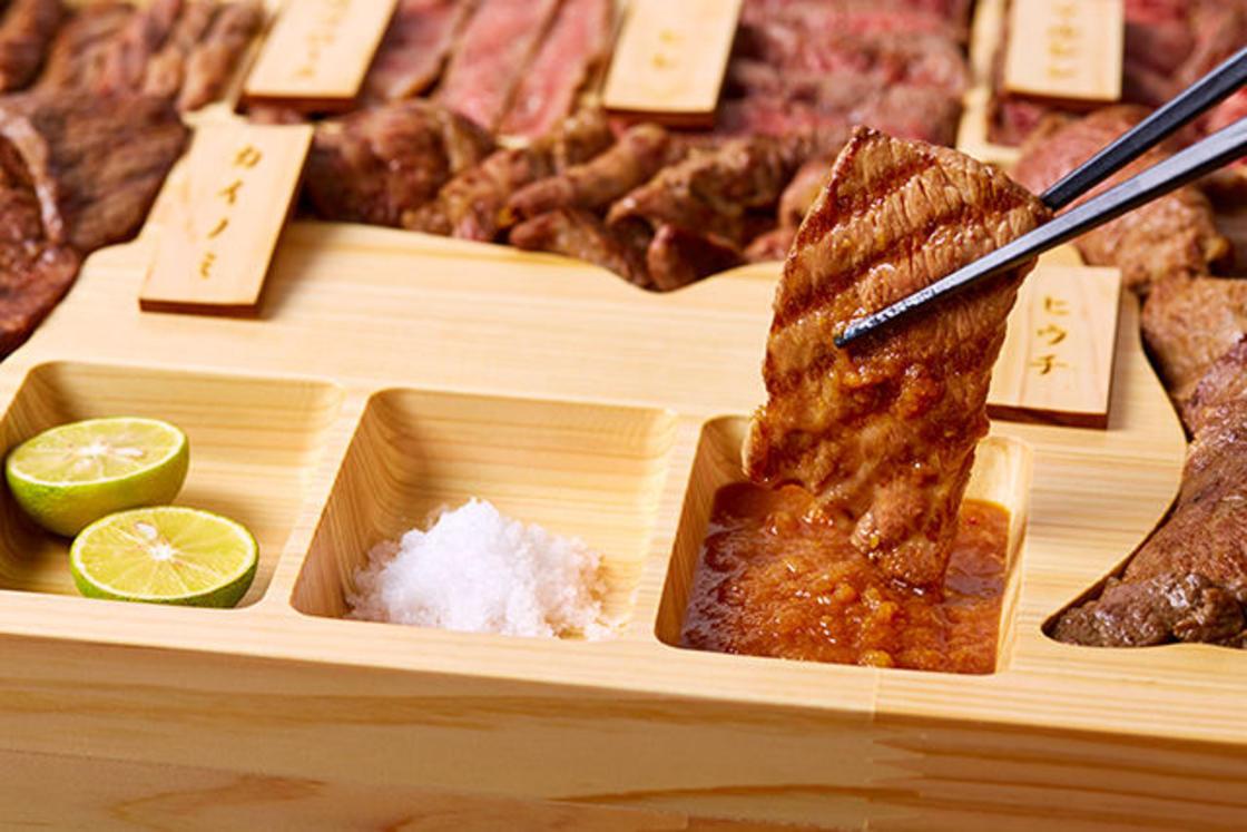 Ce bento en forme de boeuf propose les meilleures viandes du monde