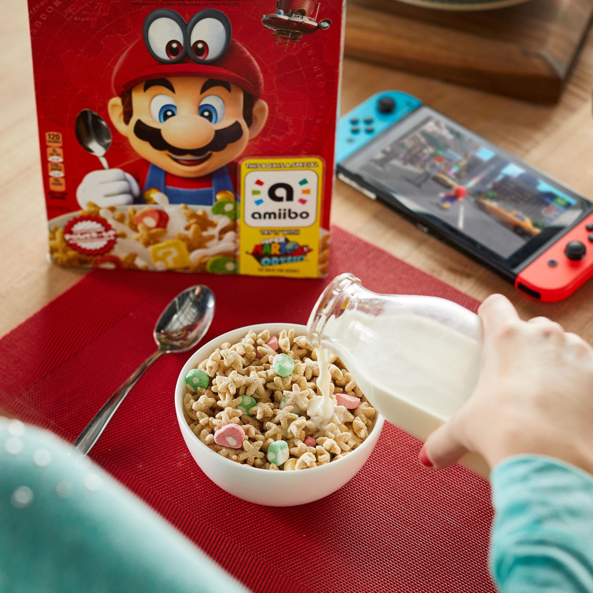 Nintendo et Kellogg's lancent les céréales Super Mario aux USA