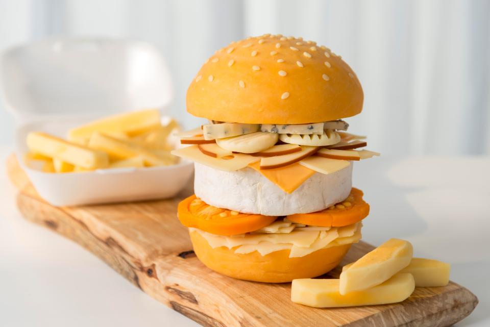 Hungryhouse lance un burger composé à 100% de fromage