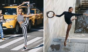 Melika Dez transforme la rue en ballet géant pour rend hommage à la danse moderne