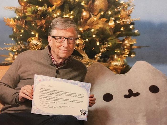 Pour Noël, Bill Gates offre un cadeau à un internaute au hasard dans le monde
