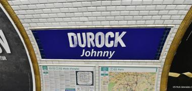"""La RATP renomme la station """"Duroc"""" en """"Durock"""" en hommage à Johnny Hallyday"""