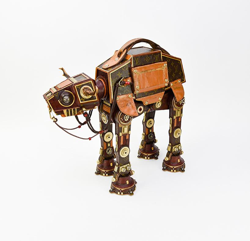 Gabriel Dishaw transforme des sacs Louis Vuitton en personnages de Star Wars