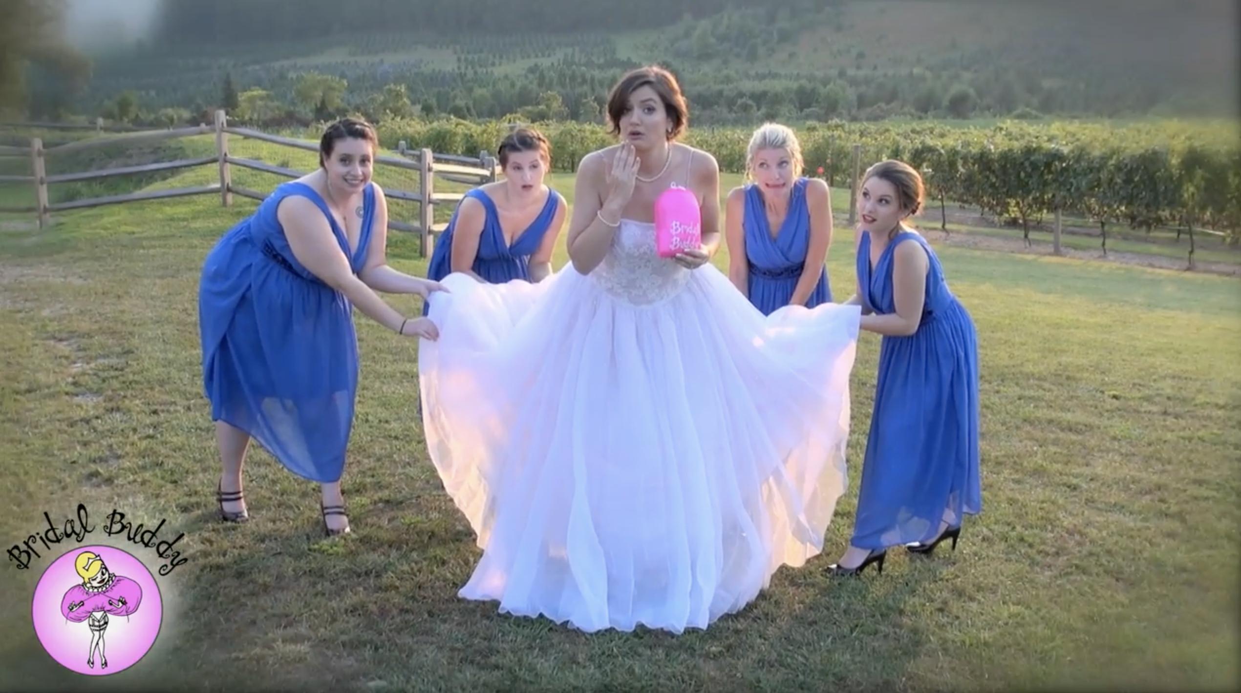 Bridal Buddy : l'idée qui permet à la mariée d'aller aux toilettes sans souci