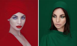 RGB : les portraits colorés de David Benoliel