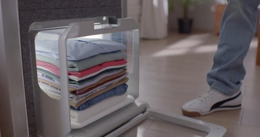 Foldimate : cette machine plie votre linge en quelques secondes