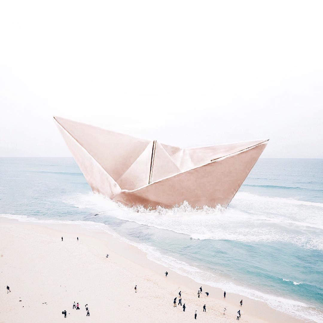 À 19 ans, Luisa Azevedo continue de faire rêver Instagram avec ses montages surréalistes