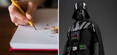 Il reproduit des musiques de Star Wars avec le simple bruit de son crayon