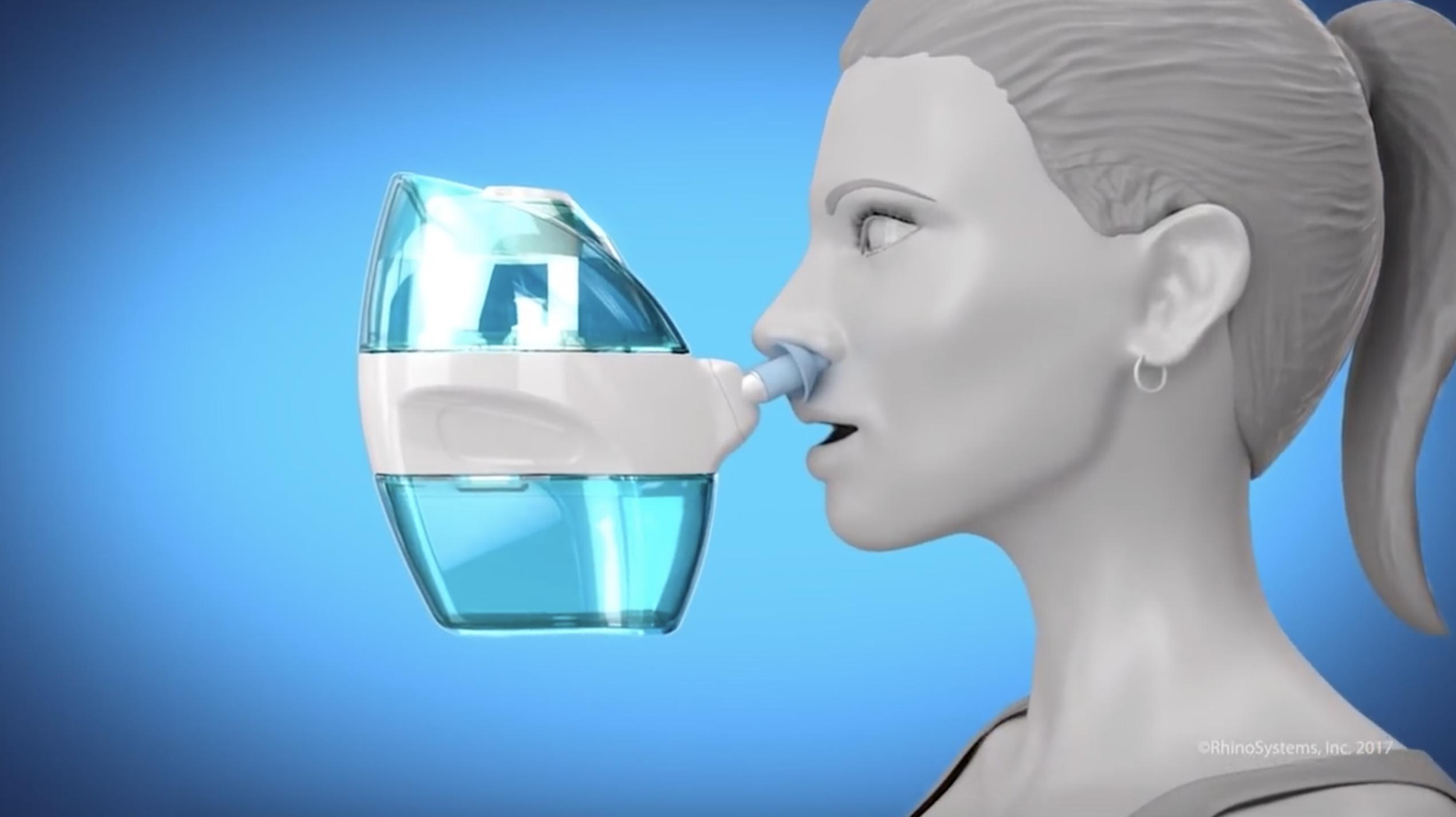 Naväge : l'invention idéale pour ceux qui ont le nez bouché cet hiver