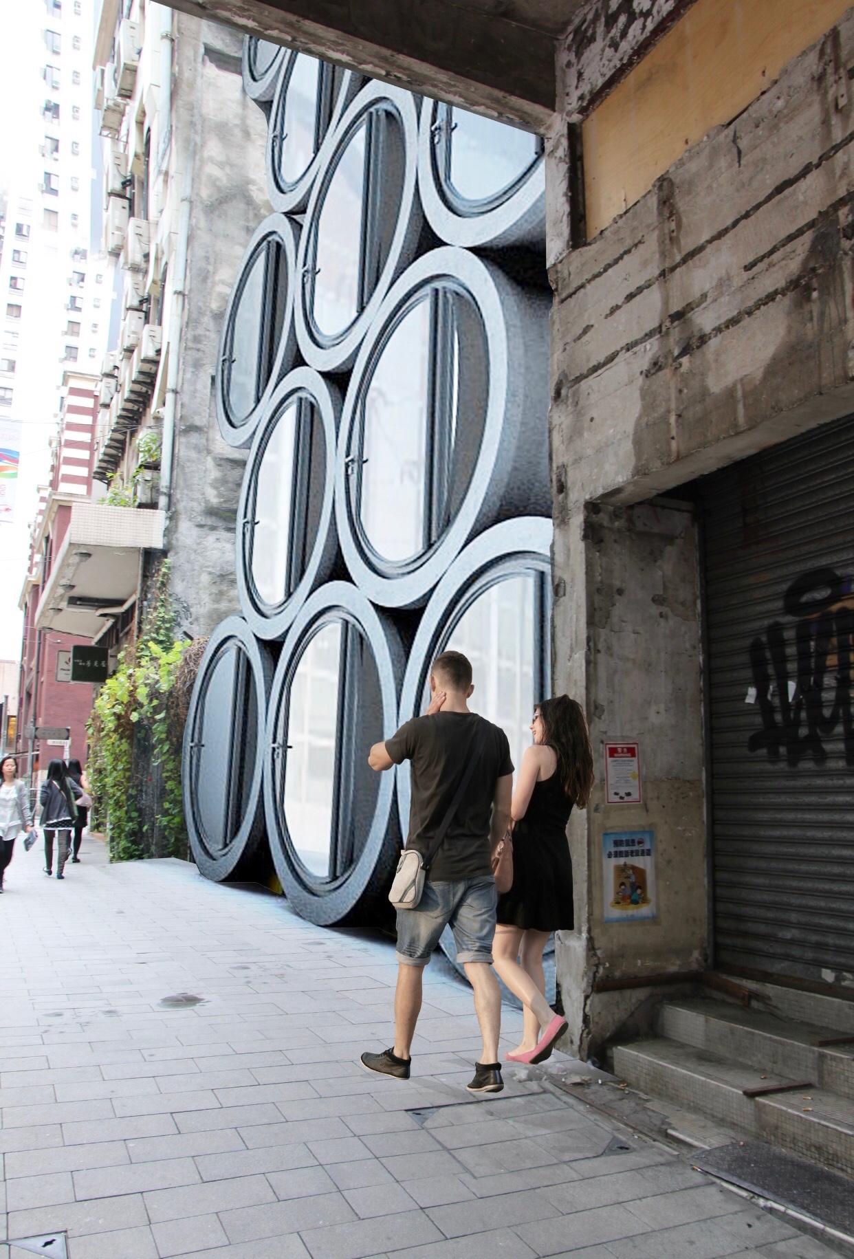 Cet architecte transforme des tuyaux en béton en mini-appartements contre la crise du logement