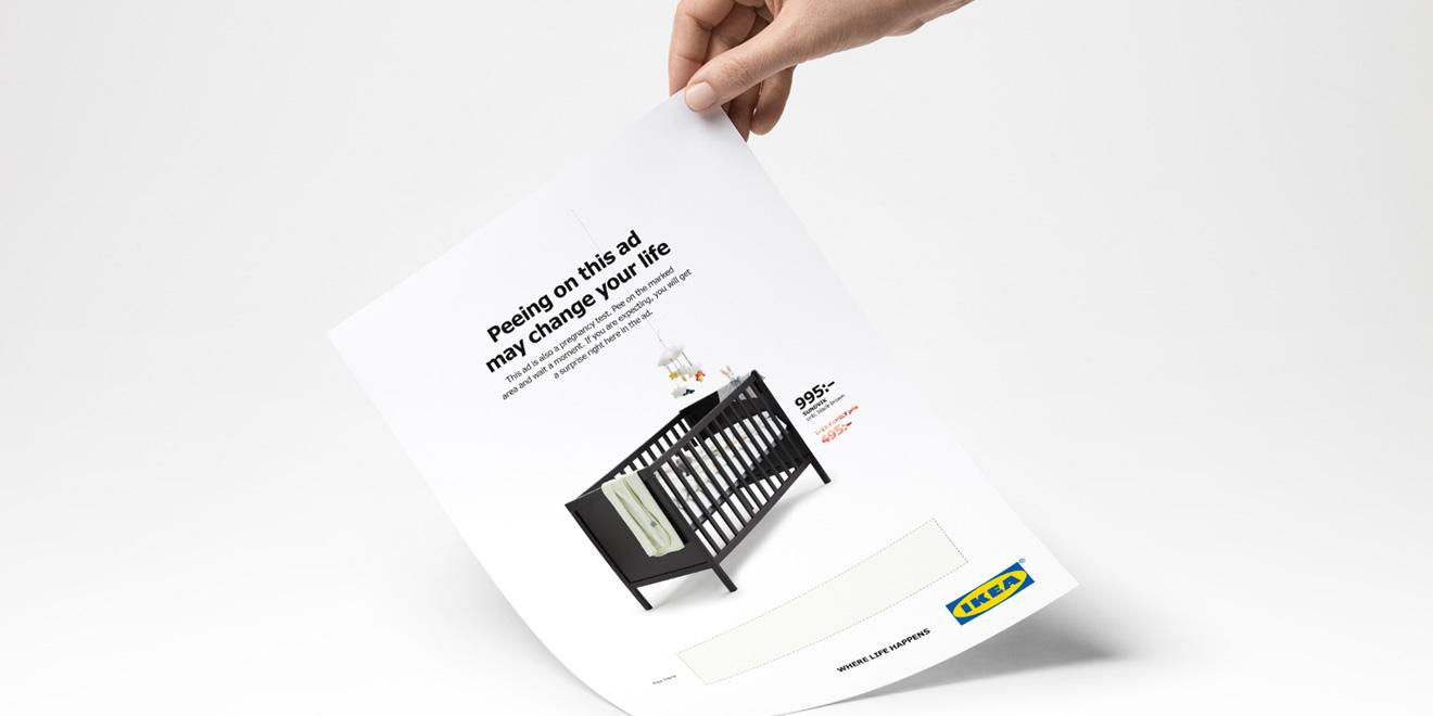 Urinez Sur Cette Pub Ikea Et Obtenez Une Réduction Si Vous êtes Enceinte