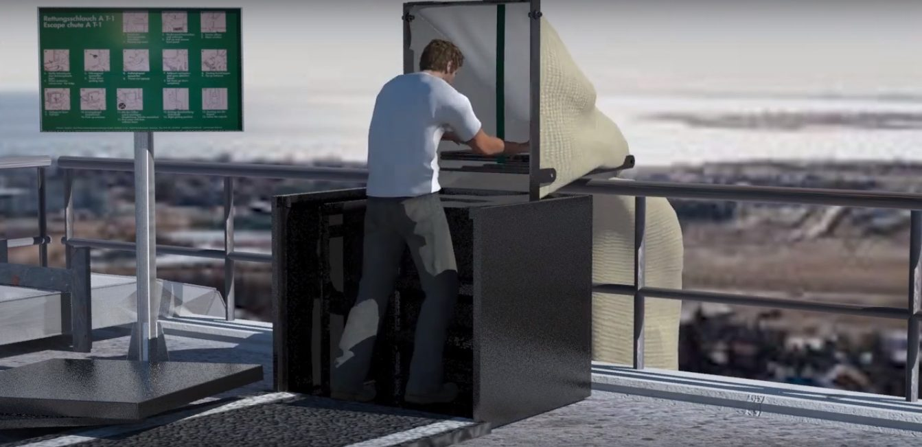 5 inventions pour s'échapper d'un bâtiment en cas de problème