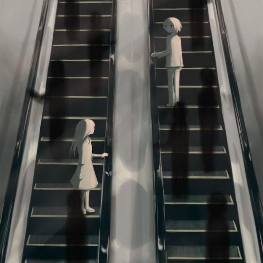 Cet artiste japonais illustre le malaise de la société avec une puissance rare