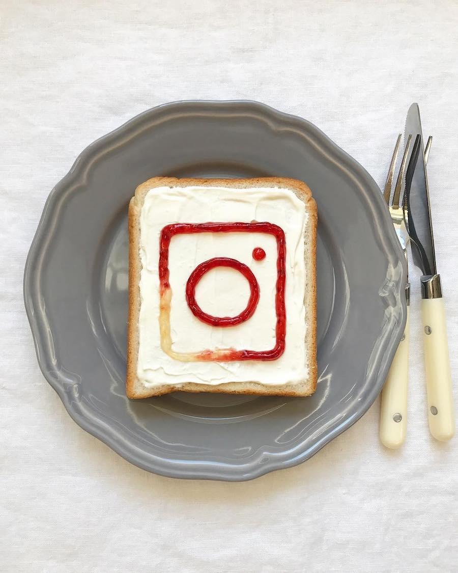 30 tartines insolites et artistiques pour démarrer la journée avec créativité