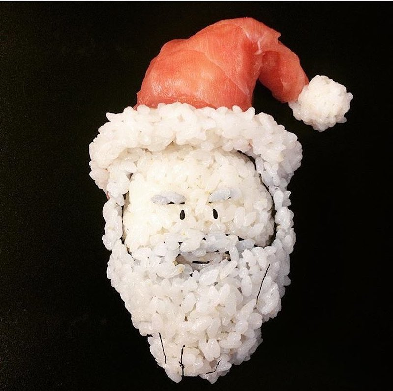 Yujia Hu sculpte les sushis pour rendre hommage à la pop culture
