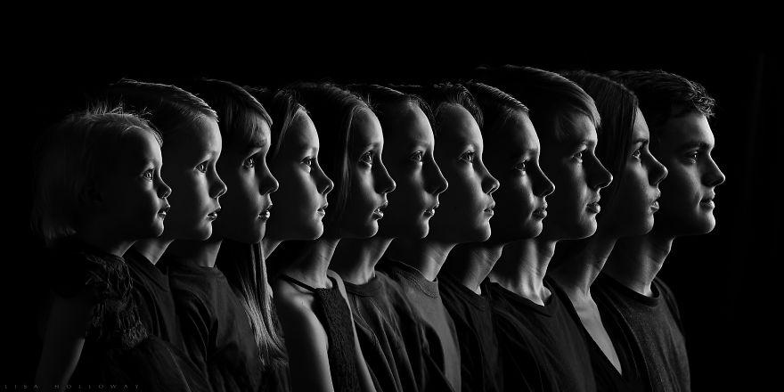 Cette mère de famille a photographié ses 11 enfants de la plus belle des manières