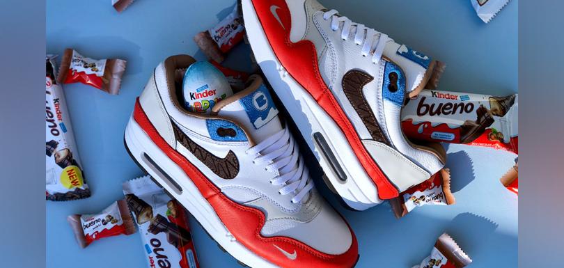 Des chaussures Nike Kinder en édition limitée pour les amoureux de