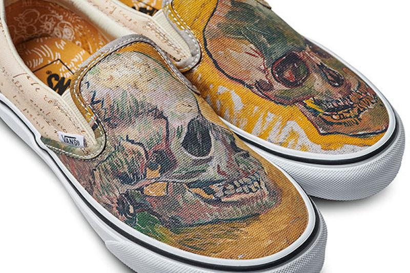 Dévoiler Le Vans S'associe Musée Van Avec Des Chaussures Gogh Pour srCBhQdtx