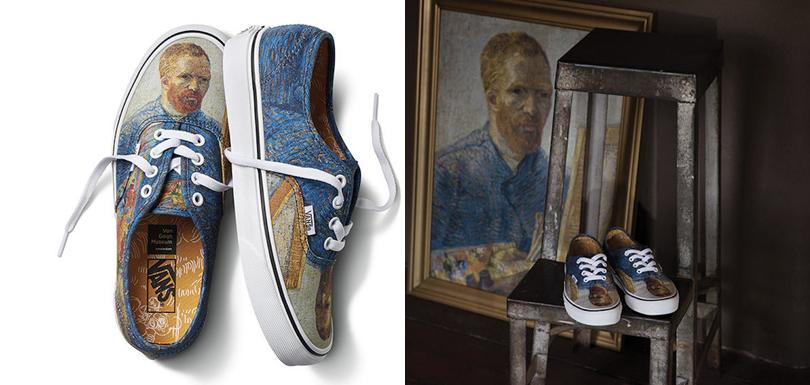 Chaussures Le Musée Gogh Vans Dévoiler Van Pour Avec Des S'associe lFTJ1cK
