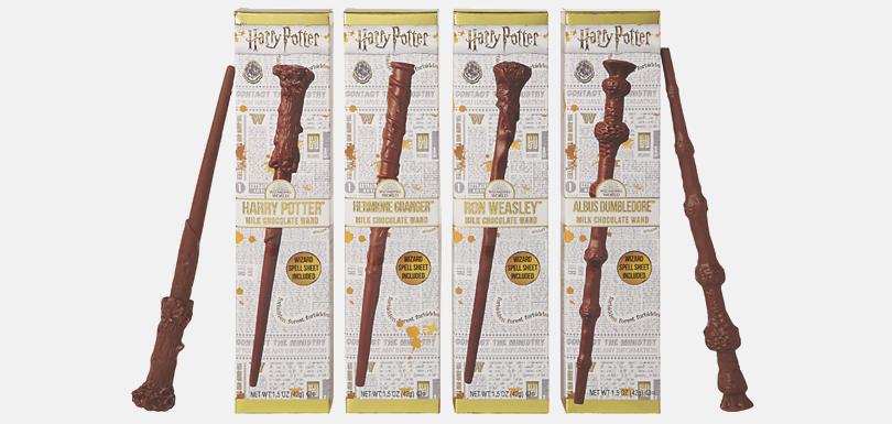 Les Baguettes Magiques Des Personnages Dharry Potter Sont